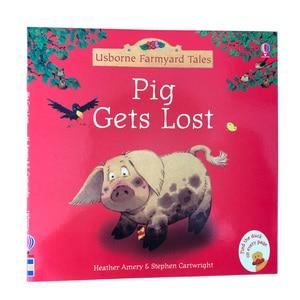 Image 2 - 20 pièces/ensemble 15x15cm Usborne photo livres anglais pour enfants et bébé histoire célèbre contes anglais série de livre enfant histoire de ferme
