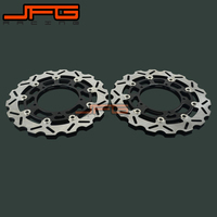 Motorcycle Front Floating Brake Disc Rotor For YAMAHA FZ1 FZ 1 FZ1S FZ1 S FAZER 2006