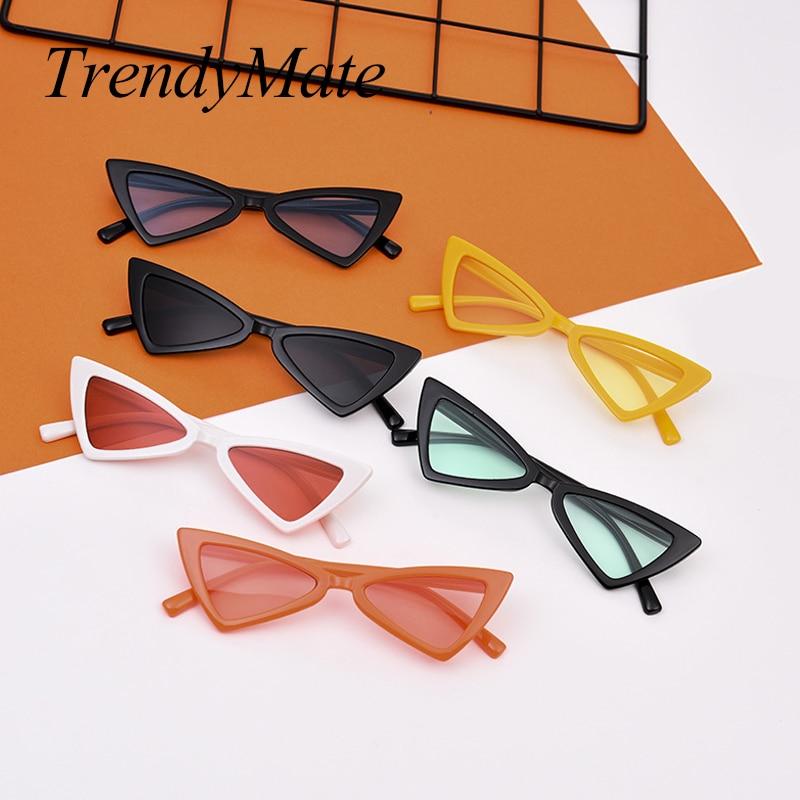 2018 Mode Kinder Katzenaugen-sonnenbrille Jungen Mädchen Marke Designer Spiegel Cateye Sonnenbrille Retro Für Kinder Uv400 1470 T Ein Unverzichtbares SouveräNes Heilmittel FüR Zuhause