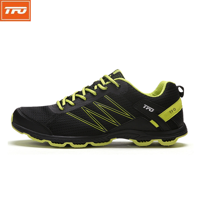 TFO Running Shoes for Men Light Weight Durable Cushioning Breathable Non-slip Sneaker Sport Shoes zapatillas deportivas 2017
