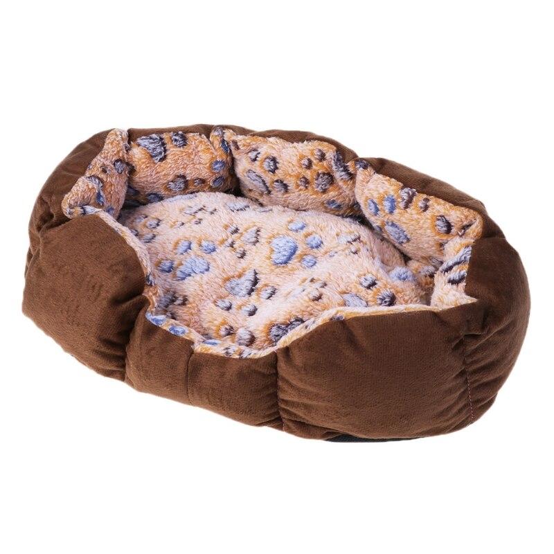 Pet Comfortable Warm Bed Dog Puppy Cat Soft Bed Mat Pet Indoor Cushion Sleep Bed