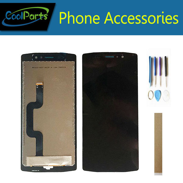 Original Quality 5.99 Inch For Homtom ZOJI Z11 LCD Display With Touch Screen Glass Digitizer Assembly With Tools Tape