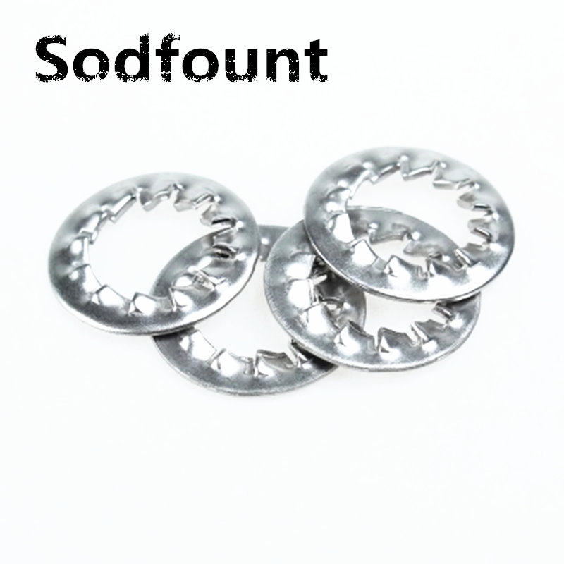 100pcs 304 stainless steel retaining washer M3 M4 M5 M6 M8