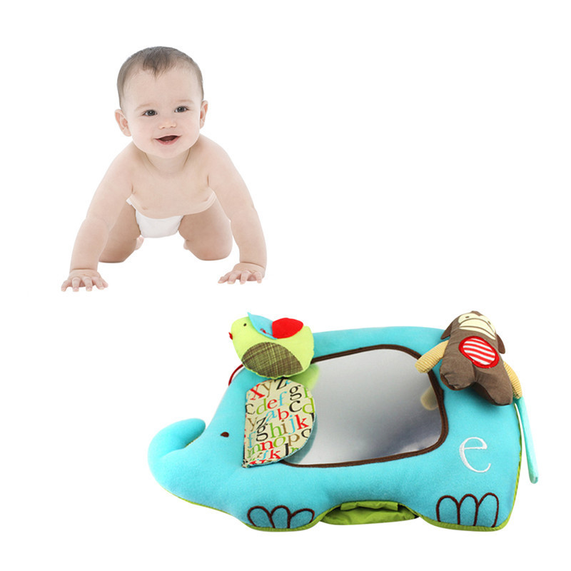 Baby Toy Elephant Distorting Mirror Educational ...