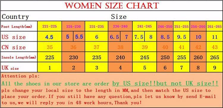 000women size