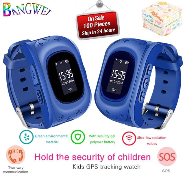 BANGWEI Smart Children Watch Positioning Kids watches Smart baby Watch SOS call