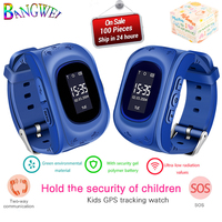 BANGWEI Smart Children Watch Positioning Kids watches Smart baby Watch SOS call Location finder Remote Monitor For Android IOS