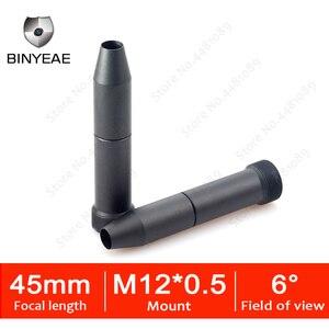 Линза для объектива BINYEAE, 1,3-мегапиксельная HD-линза 45 мм для камеры видеонаблюдения, IP-камера 45 мм M12 * 0,5, крепление на большое расстояние для п...
