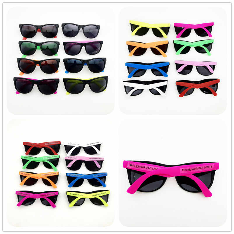 60 pairs/lot Customize Mix Color Unisex Sunglasses Classic 80's Vintage Style Design Party 2019 Sunglasses for Party Decoration