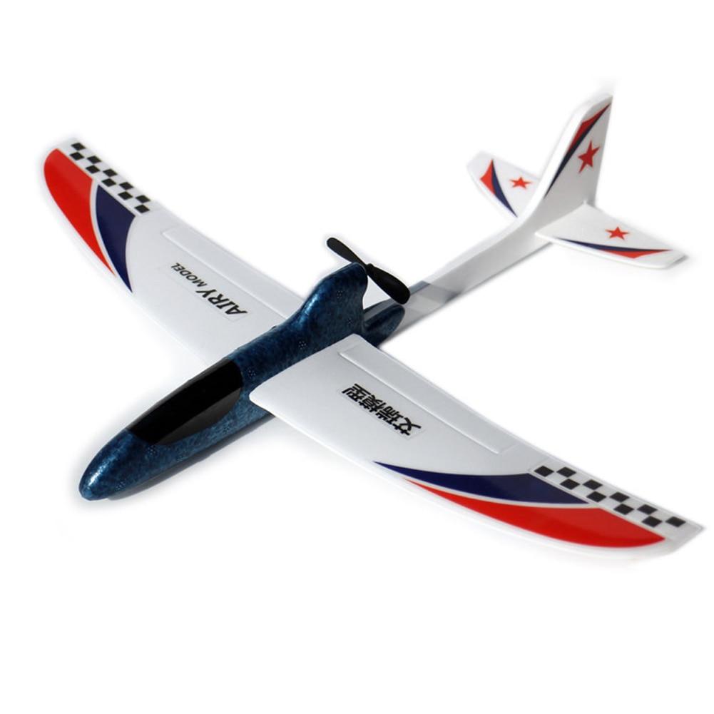 Rc Airplane Epp Foam Hand Throw Diy Electric Model Airplane Outdoor Launch Glider Plane Kids Boy Birthday Gift Toy Cheap Sales 50%