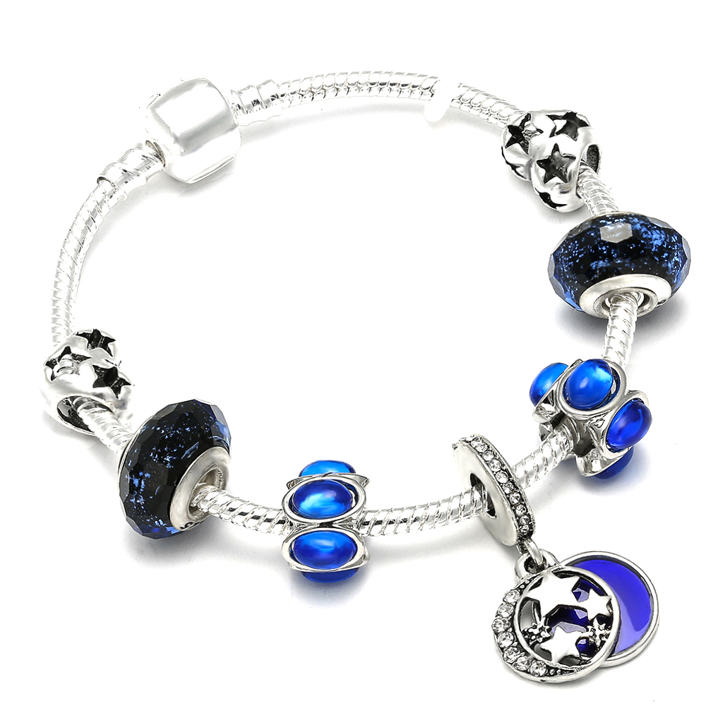 AAA Zircon Charm Bracelet for Women Fit Pandora Bracelet Jewelry DIY Making Accessories Gifts 2