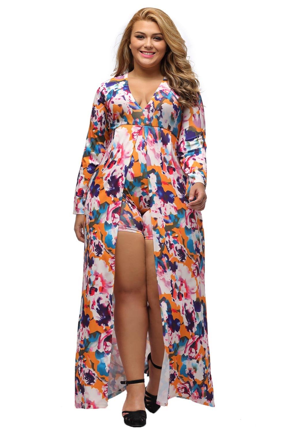 Primavera otoño estilo elegante sexy playsuit ropa Mujer