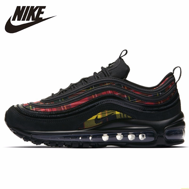 New High Quality Nike Air Max 97 Paint Splatter Women's Running Shoes Outdoor Sneakers Shock Absorption Lightweight