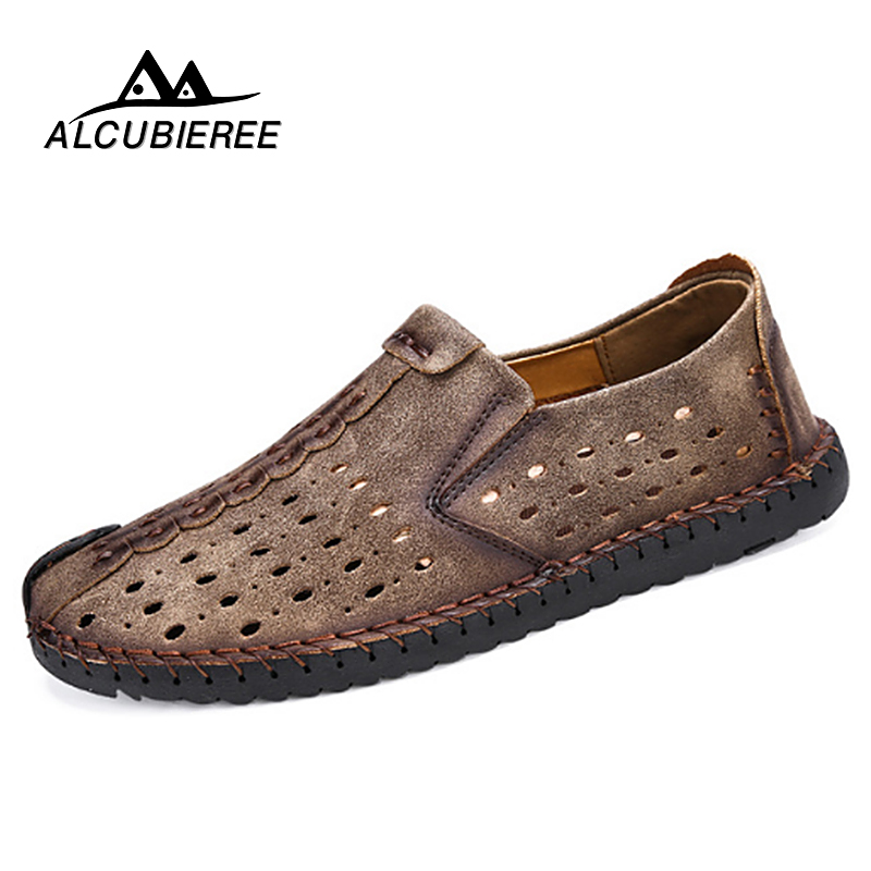 Summer Shoes Men Leather Breathable Mesh Casual Shoes Slip On Loafers Sneakers Design Men Moccasin Walking Shoes Summer 2018 New fonirra men casual shoes 2017 new summer breathable mesh casual shoes size 34 46 slip on soft men s loafers outdoors shoes 131