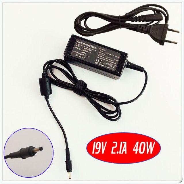 Para samsung np540u3c np530u3c np305u1a np305u1a-a02us bateria do laptop carregador/adaptador ac 19 v 2.1a 40 w