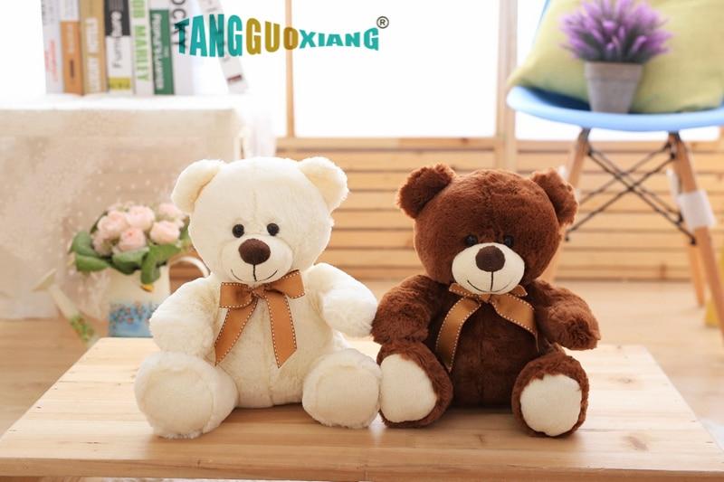 Image 2 - High Quality Toy Cartoon Teddy Bear Plush Toys 25cm Stuffed Plush Animals Bear Doll Birthday Gift For Children-in Stuffed & Plush Animals from Toys & Hobbies
