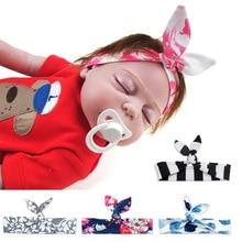 цена на New Kids Headband Bow For Girl Rabbit Ear Hairbands Turban Knot Kids Turbans Accessoire baby Headband Baby Girl
