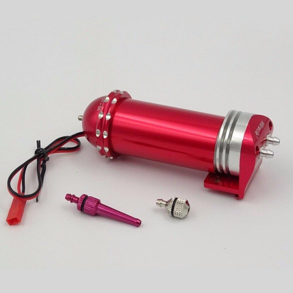 Oyuncaklar ve Hobi Ürünleri'ten Parçalar ve Aksesuarlar'de 1 adet Mucize RC Uzaktan Kumanda Metal Elektrikli Yakıt Pompası 7.2 12V Gaz ve Nitro Alüminyum Anonized sürüm II'da  Grup 1