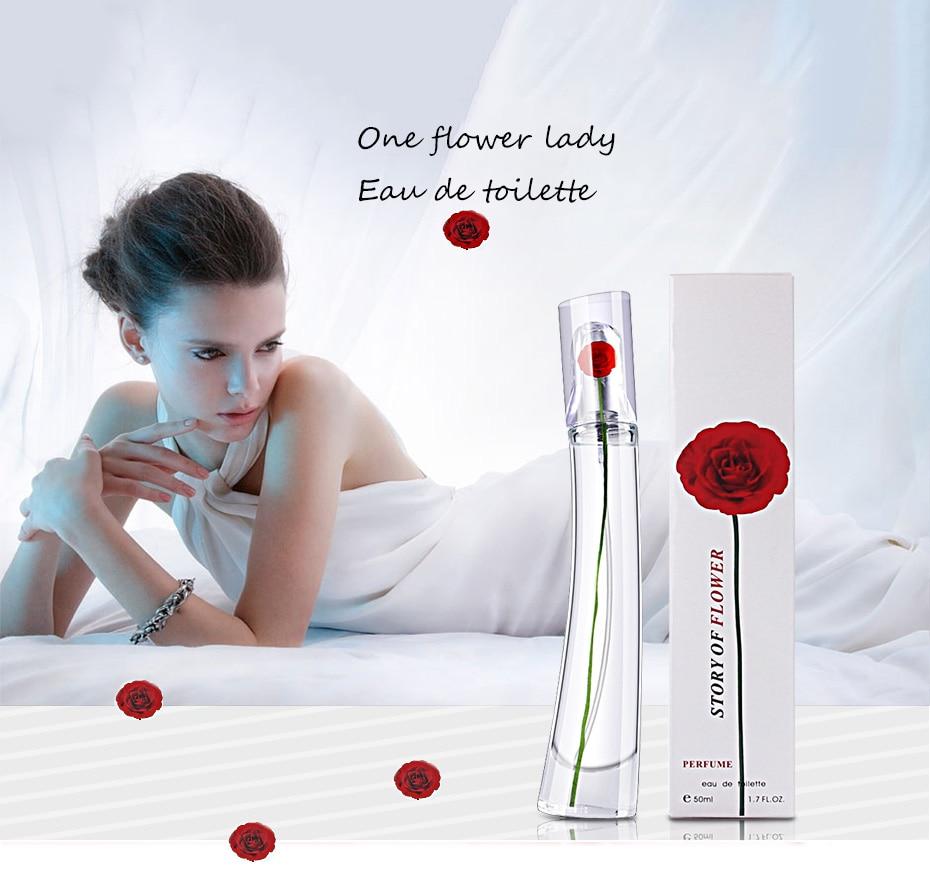 MayCreat 50ml Fragrance Perfumed For Women Spray Deodorant Female Long Lasting Flower Fragrances Lady Parfum Glass Bottle Ms.