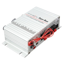 DC12V Mini Hi-Fi Stereo Audio Amplifier Amp Car Motorcycle Home MP3 MP4 PC New Arrival