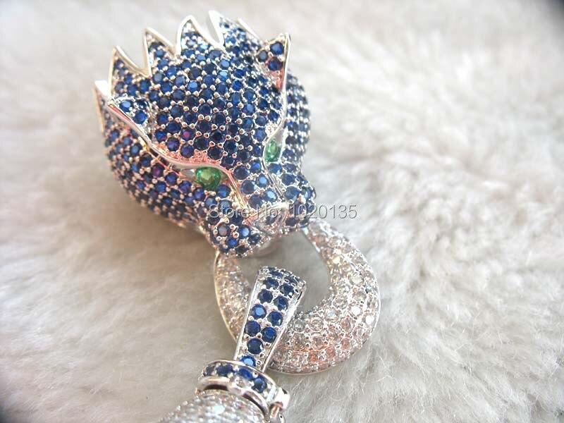 Bleu/rouge/blanc/couleur léopard bijoux perle fermoir serrure FPPJ crochet