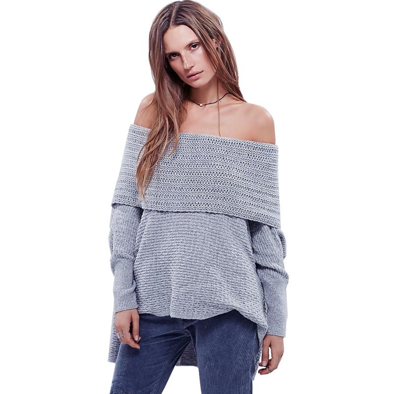 Amazing Pull A La Mode #2: 2016 Printemps Femmes À La Mode Pull Jersey Pull Nouvelle Année Tricoté  Sexy Vêtements De Produits
