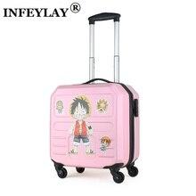 16 дюймов креативный чехол для компьютера для девочек, студентов ABS+ Корпус чемодана из пластика, Женский чемодан для путешествий, чемодан, посадка в бизнес-класс, коробка для детей, подарок