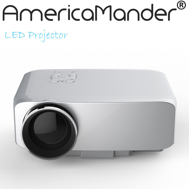 HD Мультимедиа 3D LED Мини Домашний Кинотеатр ЖК Игры Проектор AV/VGA/SD/USB/HDMI Бесплатно доставка по России, Бразилии