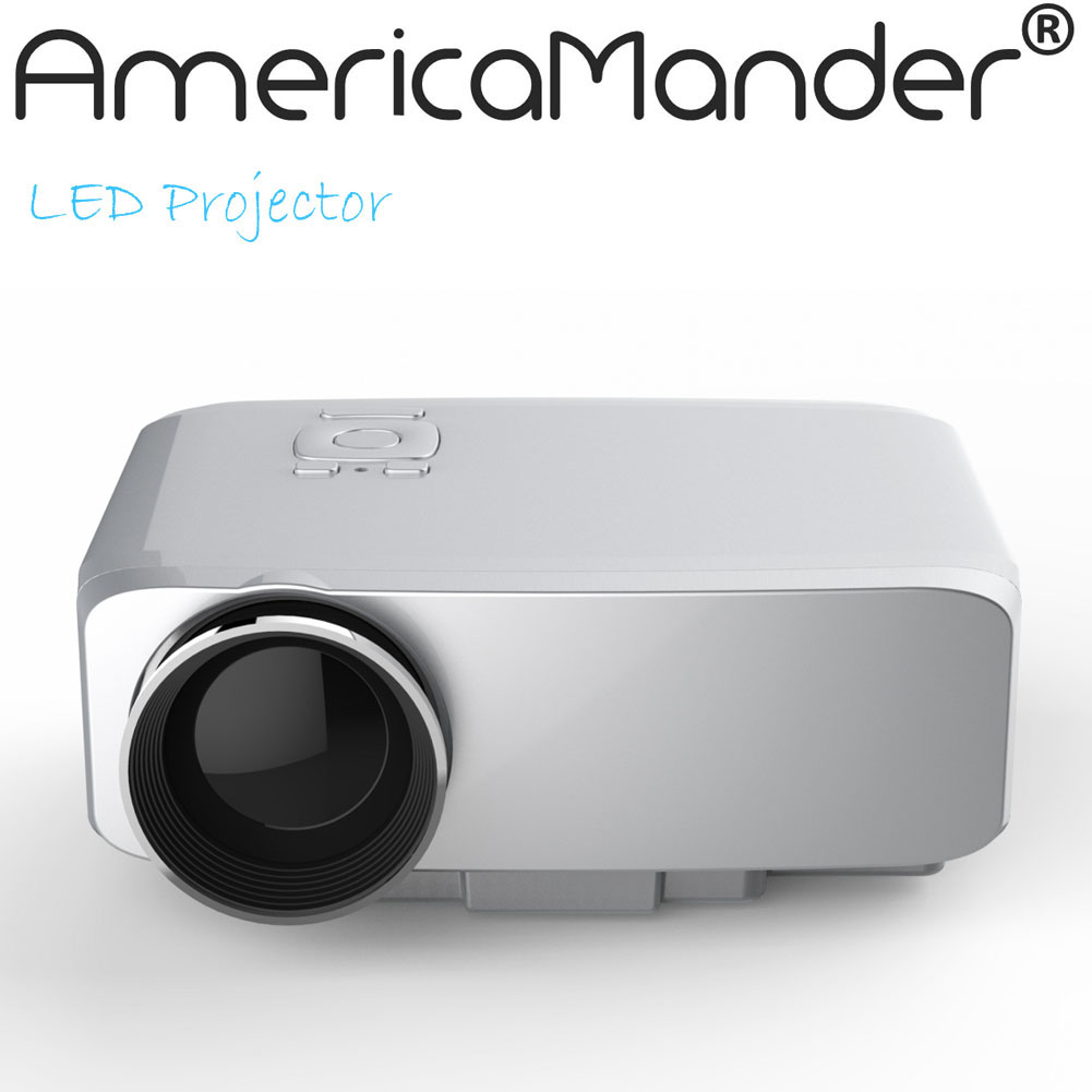 HD Multimedia 3D LED Mini Home Theater LCD Game Projector AV/VGA/SD/USB/HDMI Free Shipping for Russia Brazil