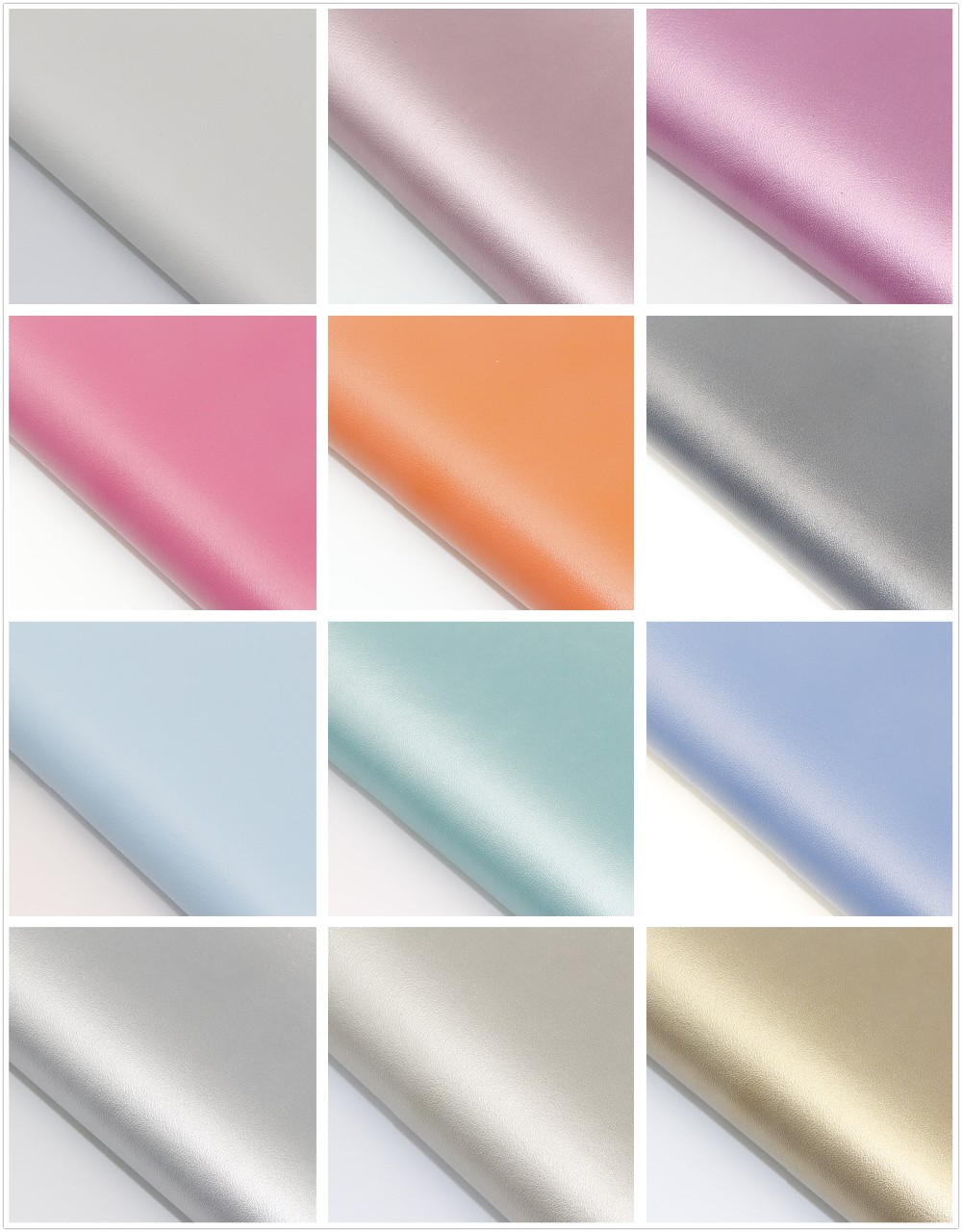 40PCS--High Quality 40 Pcs DIY PU Leather Set Synthetic Leather  /DIY Fabric Artificial Leather