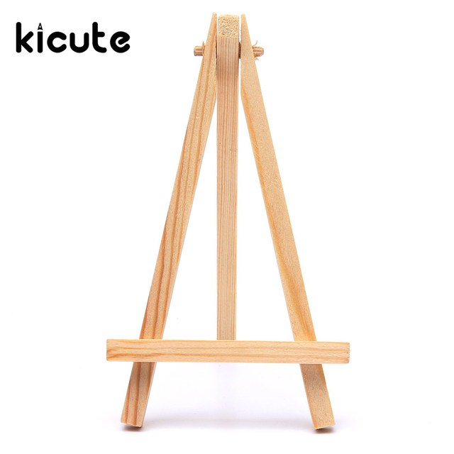 Kicute Wood Artist Easel Wedding Table Number Place Name Card Photos Stand Display Holder Diy Party