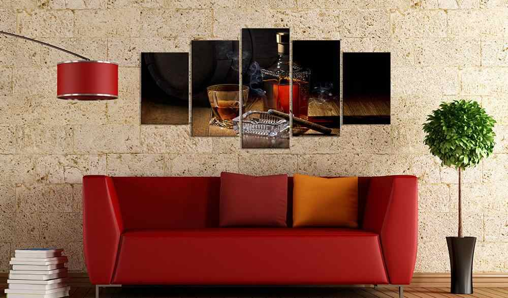 5 Pcs/Set Modern Still life poster series Wall Art Painting for Living Room Home Decor Picture/PJMT-B (316)
