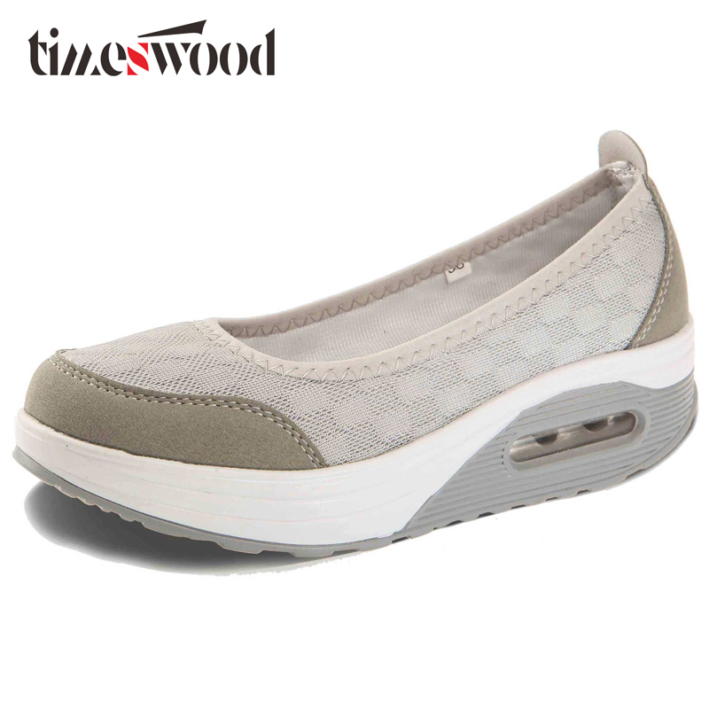 TIMESWOOD New Hot Women Shoes Casual Platform Height Increasing Femme Ladies Chaussure Nurse Wedge Shoe Swing Fashion Shoe Women summer fashion nurse shoes ladies air cushion white sneakers women platform shoes 2018 new lolita shoes swing hot sale big size