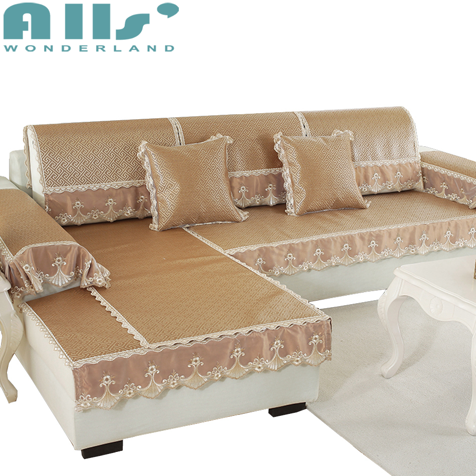 Cheap Sofa Cover: Rattan Sofa Slipcover Cool Feeling Sectional Sofa Cover