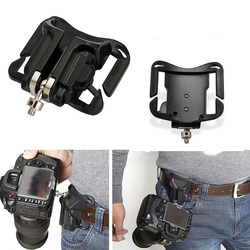 1Pc Camera Waist Belt Buckle Camera Quick Belt Buckle Holster Waist Mount Hanger Clip for Canon for Nikon for Sony Black  #2 3