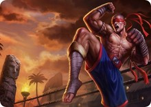 Muay Thai Lee Sin mouse pad lol pad mouse League laptop mousepad Popular gaming padmouse gamer of Legends keyboard mouse mats