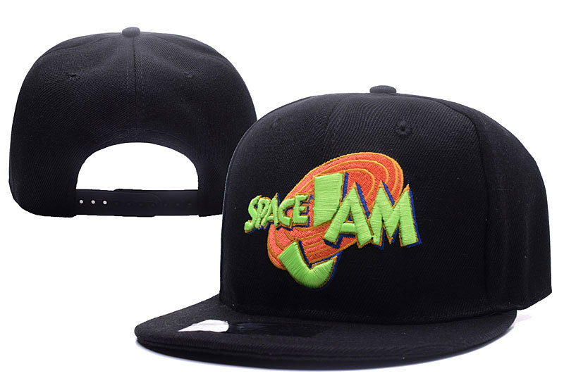2017 New Release 1996 US Anime Movie Space Jam Snapback Caps Baseball Hat Flat Edge Adjustable Hip Hop Caps For Women and Men new 2017 hats for women mix color cotton unisex men winter women fashion hip hop knitted warm hat female beanies cap6a03
