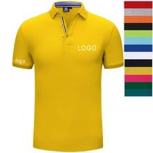 Custom logo embroidery polo shirt / custom adult shirt/ design Your Own printing text or diy photos