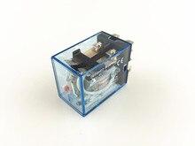10 pz/lotto LY2NJ Relè di Potenza 220 V AC Coil Miniature Relay DPDT 2NO 2NC 8 Pin 10A 240VAC LY2N J HH62P JQX 13F LY2