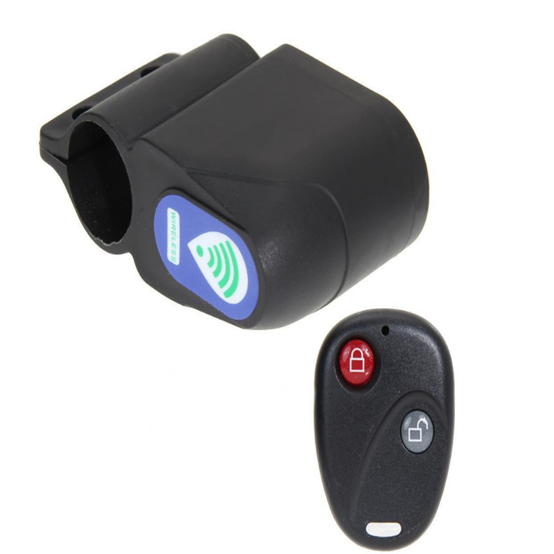Bicycle Accessories New Professional Anti-theft Bike Lock Cycling Security Lock Wireless Remote Control Vibration Alarm 110db Bicycle Alarm Cool In Summer And Warm In Winter