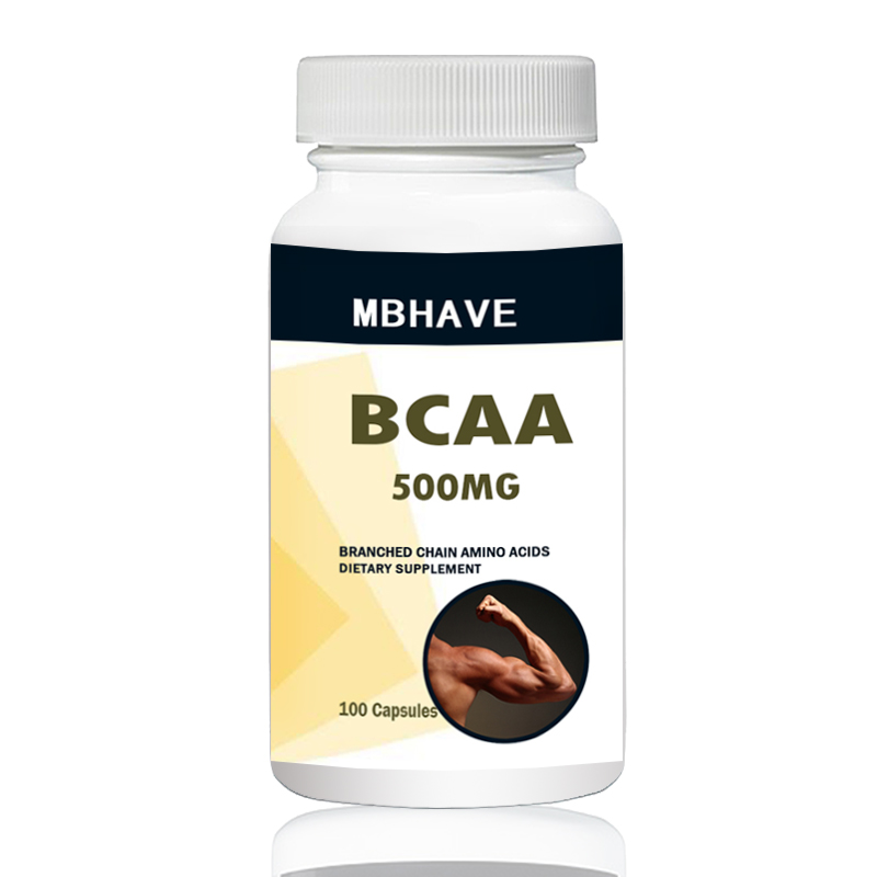 BCAA 2:1:1 High Quality Branch Chain Amino Multi-function 100PCS