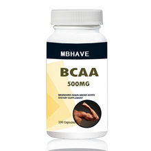 BCAA 2:1:1 высокое качество филиал цепи Amino Multi-function 100 шт