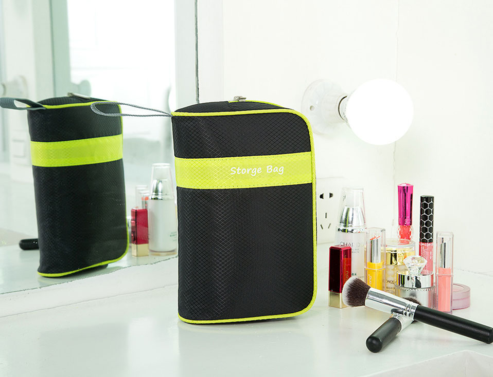 Makeup Usb Data Travel Electronic Accessories Cable Organizer Bag Large Travel Bag Organizer Electronic Multi-Functional         (12)