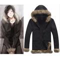 DuRaRaRa Orihara Izaya Cosplay Costumes Vogue Black mens jackets and coats Halloween boys clothes winter jacket