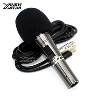 Professional Wied Handheld Condenser Microphone Studio Mic Mike For Computer PC Broadcast Video Recording Microfone Condensador