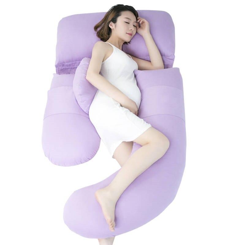 Ergonomic Comfortable Body Pillow For Side Sleepers Soft Cotton Pregnant Pillow U Shape Maternity Baby Bed Pillow For NursingErgonomic Comfortable Body Pillow For Side Sleepers Soft Cotton Pregnant Pillow U Shape Maternity Baby Bed Pillow For Nursing