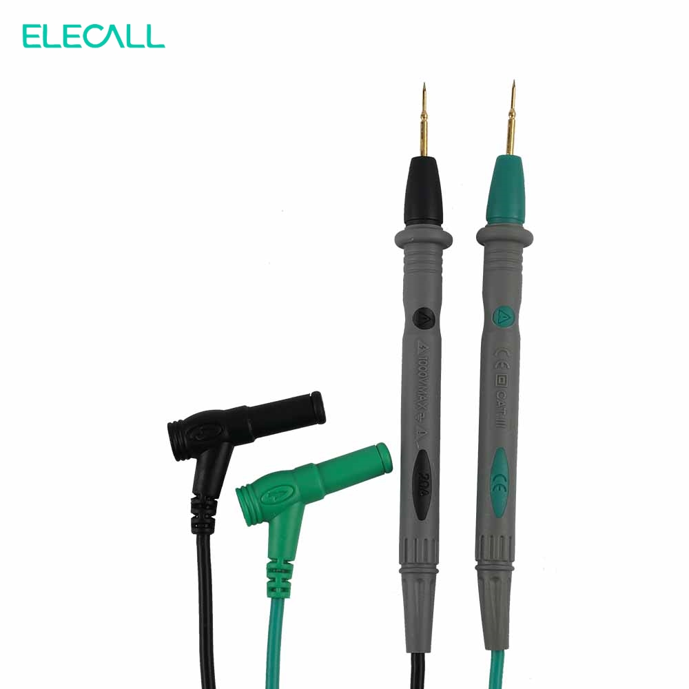 Supporting MK72 Needle Tip Probe Test Leads Pin Hot Universal Digital Multimeter Multi Meter Tester Lead Probe Wire Pen Cable