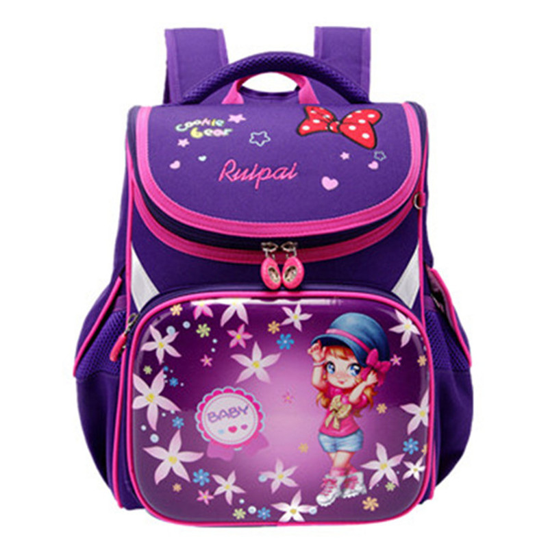 Kids School Bags Orthopedic Backpack Schoolbag Waterproof School Bags For Girls Children Backpacks Mochila Escolar