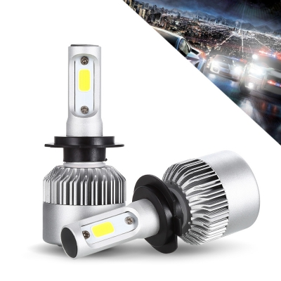 S2 H7 Pair of Car LED Headlight with free shipping