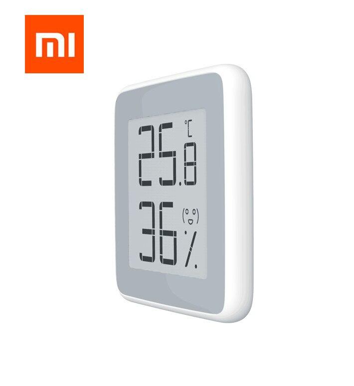 Original Xiaomi Mijia termómetro temperatura humedad Sensor LCD pantalla Digital humedad medidor para xiaomi Mi smart home kits